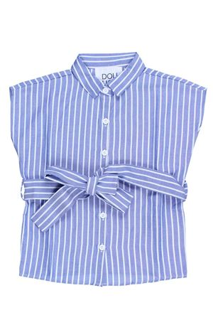 Camicia manica corta rigata DOU DOU | 5032279 | CA3106390745