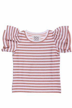 T-shirt girocollo rigata dehli DOU DOU | 8 | FE1922880670