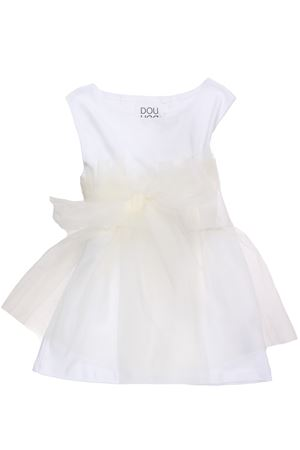 Top with tulle fringes