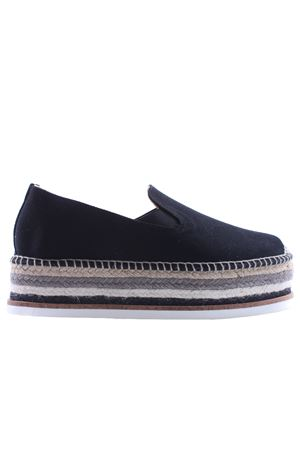Espadrilles in cotton canvas