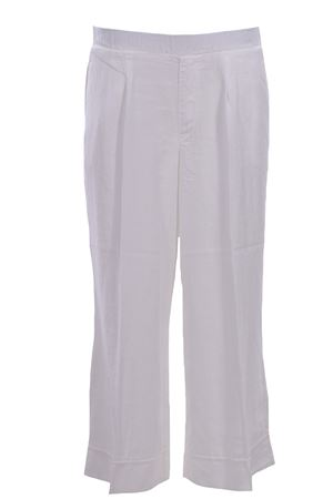 Gaucho pants with elastic