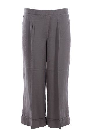 Pantaloni gaucho gamba larga con elastico EUROPEAN CULTURE | 5032272 | 07HU76611306