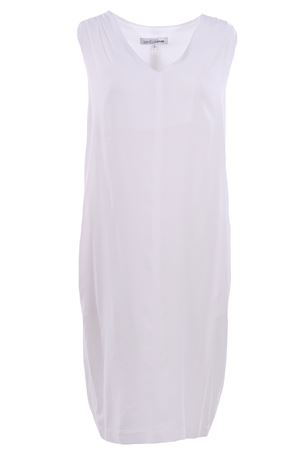 Sleeveless calf lenght dress