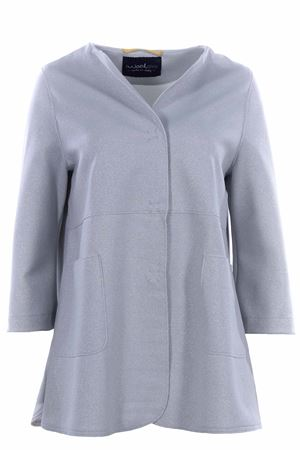 Long jacket lurex effect EWOOLUZIONE | 5032284 | CENISIALU50190027C030