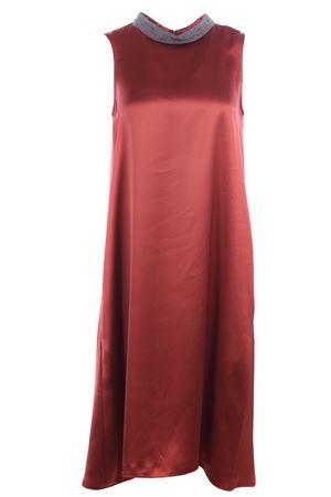 Sleeveless calf lenght dress FABIANA FILIPPI | 5032276 | AB31519H2613014