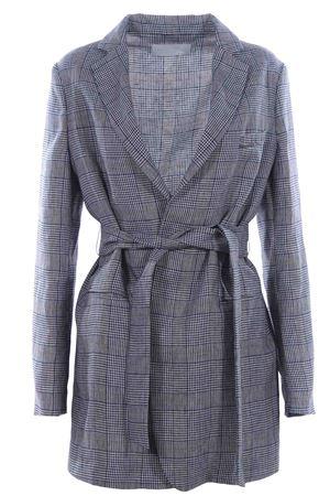 Long linen jacket FABIANA FILIPPI | 5032284 | GC53319H554VRU
