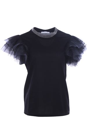 Cotton t-shirt with jewellery FABIANA FILIPPI | 8 | JE42819H431VR4