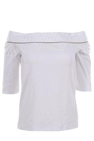 Cotton t-shirt with applications FABIANA FILIPPI | 8 | JE48319H501VR1