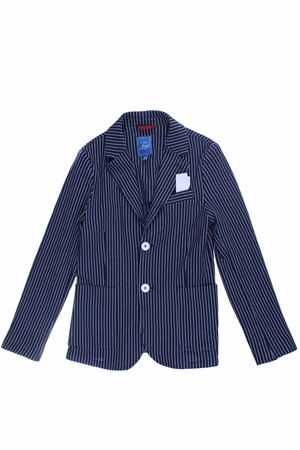Stretch striped jacket