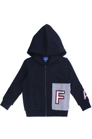 Felpa full zip con cappuccio FAY | -161048383 | NDGB5387600QSD0355
