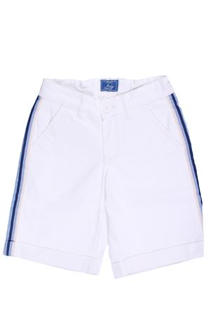 Cotton shorts with side band
