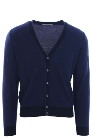 Cardigan in cotone oxford FILIPPO DE LAURENTIS | -161048383 | 28213888