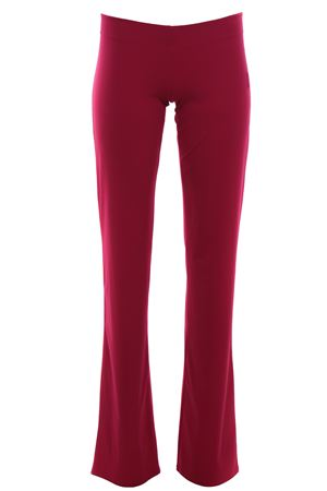 Pants with elastic