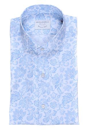 Camicia washed stampa floreale GHIRARDELLI | 5032279 | P809301