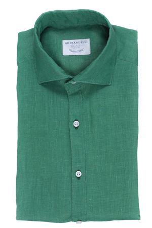 Camicia washed in lino placcato GHIRARDELLI | 5032279 | P814503