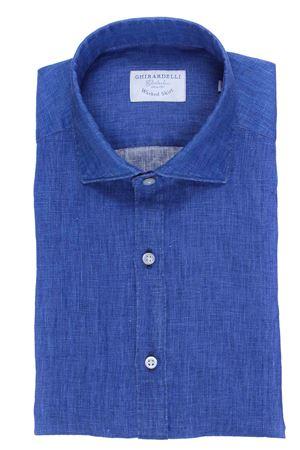 Camicia washed in lino placcato GHIRARDELLI | 5032279 | P814504