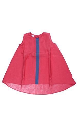 Linen dress GIRO QUADRO | 5032276 | 075LN38