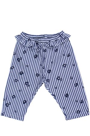 Pantalone capri stampa fiori IL GUFO | 5032272 | P19PR033C4044492