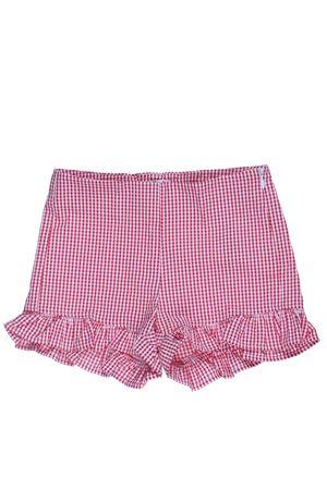 Shorts vichy in cotone IL GUFO | 30 | P19PS047C3106371