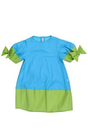 Two-tone cotton dress IL GUFO | 5032276 | VM501M00144552