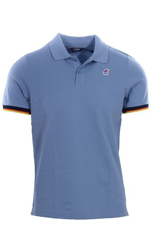 Polo vincent contrast in cotone stretch K-WAY | 2 | K008J50U171
