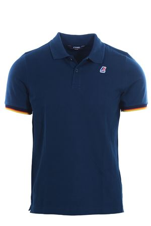 Polo vincent contrast in cotone K-WAY | 2 | K008J50UD33