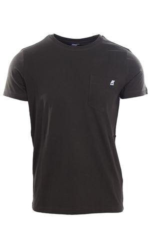 T-shirt sigur con taschino K-WAY | 8 | K00AI30U576