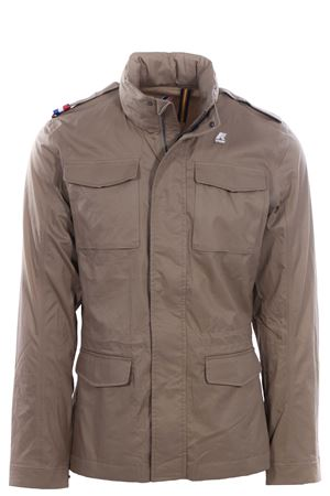 Field jacket manfield light cotton K-WAY | 5032282 | K00ALY0U677