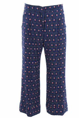 Pantaloni gaucho gamba larga in viscosa MALIPARMI | 5032272 | JH737570323B8065