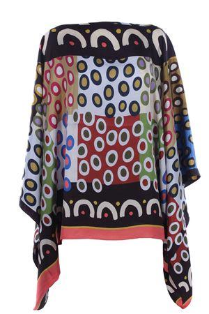Silk poncho MALIPARMI | 5032315 | JM441130059A2086