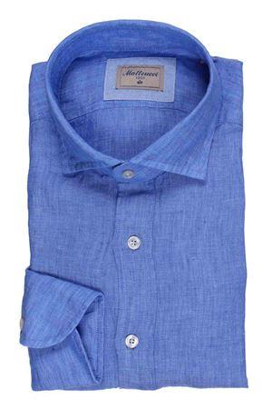 Camicia in lino delavè MATTEUCCI 1939 | 5032279 | 500EBLW0045051