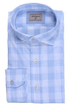 Checked cotton shirt MATTEUCCI 1939 | 5032279 | 500EBLW08983452