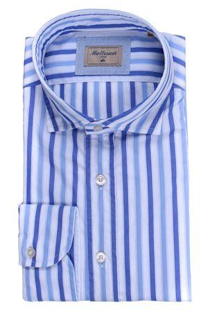 Striped cotton shirt MATTEUCCI 1939 | 5032279 | 500EBLW09027251
