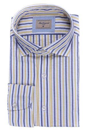 Seersucker cotton shirt MATTEUCCI 1939 | 5032279 | 500EBLW09032220