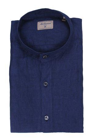 Camicia in lino delavè MATTEUCCI 1939   5032279   CANNESELCN0045055