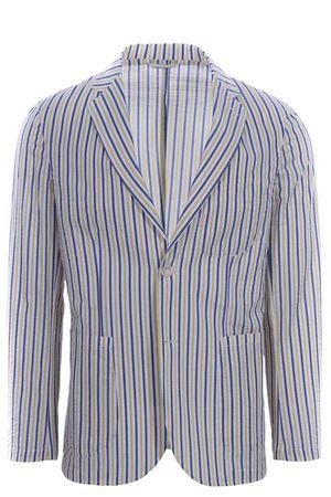 Striped seersuker jacket MATTEUCCI 1939 | 5032284 | MONZA09032220