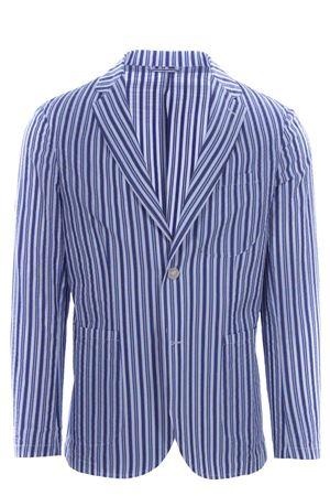 Striped seersuker jacket MATTEUCCI 1939 | 5032284 | MONZA09032270