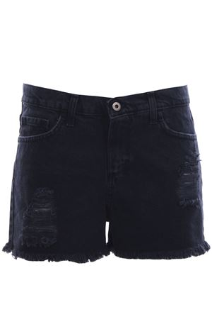 Distressed cotton shorts MERCI | 30 | BRIGITTEBLACK19PEUNICO