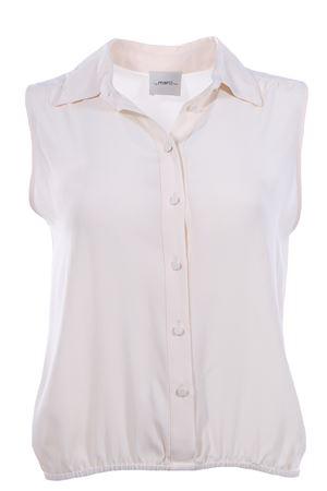 Sleeveless shirt with elastic MERCI | 5032279 | MC16519740BURRO