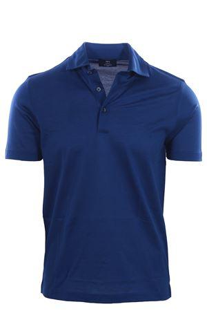 Polo collo camicia in piquet filo di scozia N&L | 2 | 6010374200578