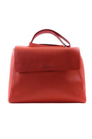 Leather big bag ORCIANI | 5032281 | B01979SOFTARANCIO