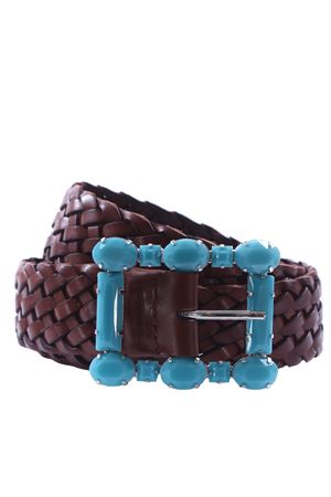 Weaved leather belt ORCIANI | 5032288 | D09865MASCULINECUOIO