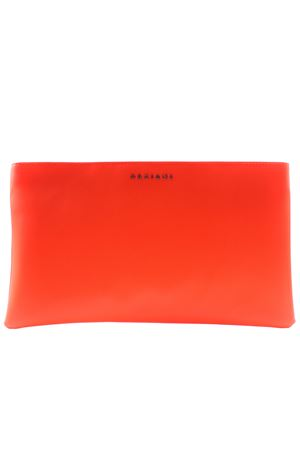 Borsa media con tracolla in metallo ORCIANI | 5032281 | SD0157FLUOARANCIO