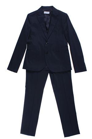Cotton suit PAOLO PECORA | 5032276 | PP1723BLU