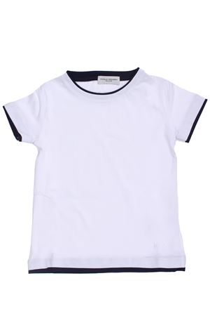 T-shirt in cotone PAOLO PECORA | 8 | PP1772BIANCO/BLU