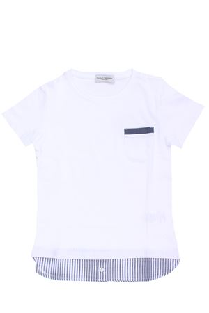 T-shirt cotone  PAOLO PECORA | 8 | PP1783BIANCO