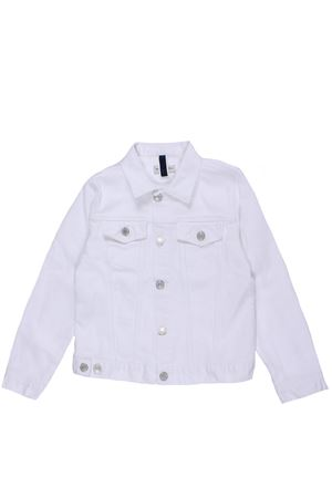 Denim cotton jacket PAOLO PECORA | 5032285 | PP1893BIANCO