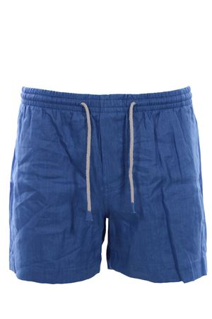 Linen swim shorts