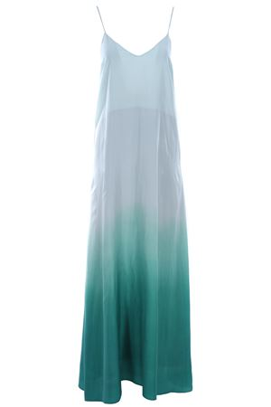 Long silk dress
