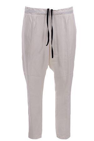 Pants with drawstring